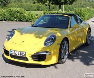 Rompicapo di Porsche 911 Targa 4