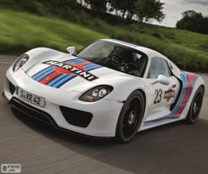 Rompicapo di Porsche 918 Spyder Martini Racing
