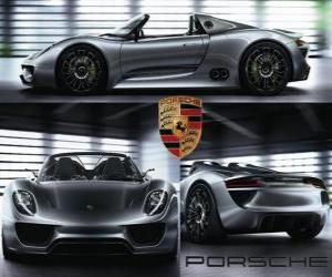 Rompicapo di Porsche 918 Spyder