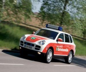 Rompicapo di Porsche Cayenne Ambulanza