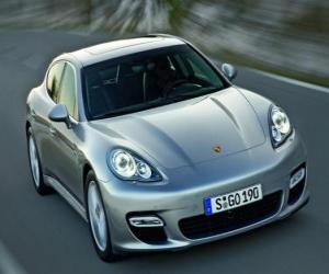 Rompicapo di Porsche Panamera (2010)