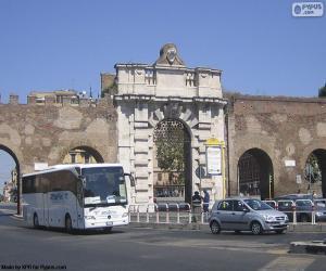 Rompicapo di Porta San Giovanni, Roma