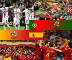 Rompicapo di Portogallo - Spagna, semifinali Euro 2012