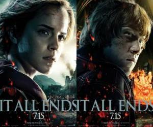 Rompicapo di Poster di Harry Potter e i Doni della Morte (4)