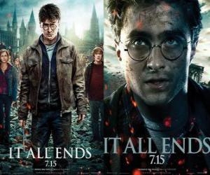 Rompicapo di Poster di Harry Potter e i Doni della Morte (3)