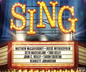 Rompicapo di Poster di Sing