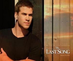 Rompicapo di Poster promozionale The Last Song (Liam Hemsworth)