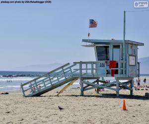 Rompicapo di Posto di soccorso sulla spiaggia