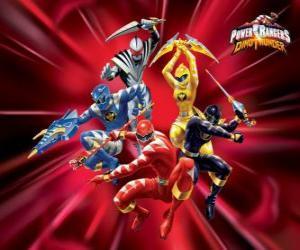 Rompicapo di Power Rangers Dino Thunder