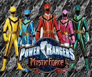 Rompicapo di Power Rangers Mystic Force