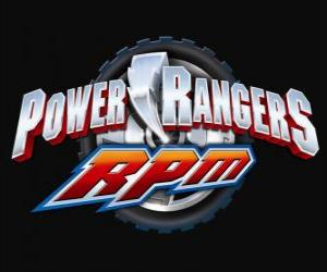 Rompicapo di Power Rangers RPM Logo