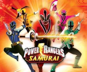 Rompicapo di Power Rangers Samurai