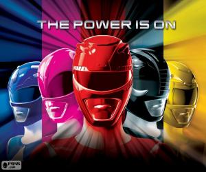 Rompicapo di Power Rangers, The Power is on