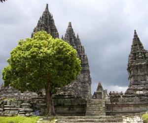 Rompicapo di Prambanan, Indonesia.