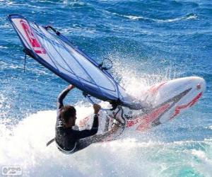 Rompicapo di Praticare il windsurf