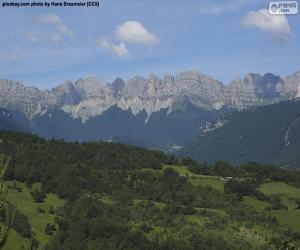 Rompicapo di Prealpi del Vercors, Francia