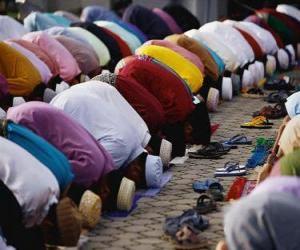 Rompicapo di Preghiera musulmani