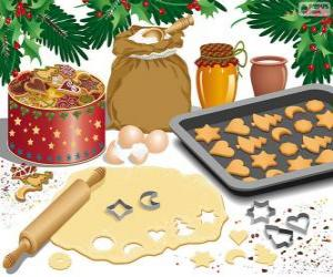 Rompicapo di Preparazione biscotti di Natale