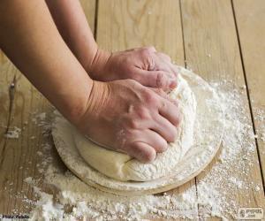 Rompicapo di Preparazione dell'impasto per pizza