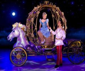 Rompicapo di Princess Principe aiutando il suo trasporto verso il basso