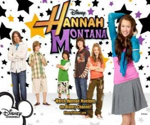 "Rompicapo di Principali personaggi di Hannah Montana, Miley Ray Stewart, Lillian ""Lilly"" Truscott, Oliver Oken, Rod Stewart Jackson, Robby Ray Stewart e Rico Suave"