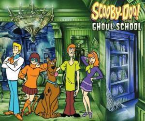 Rompicapo di principali personaggi di Scooby-Doo