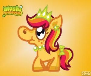 Rompicapo di Priscilla. Moshi Monsters. La principessa Pony