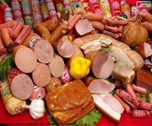 Rompicapo di Prodotti di carne