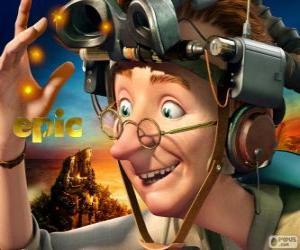 Rompicapo di Professor Bomba, un eccentrico scienziato