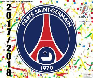 Rompicapo di PSG, campione Ligue 1 2017-2018
