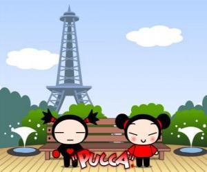 Rompicapo di Pucca e Garu a Parigi
