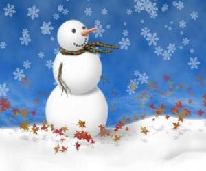 Rompicapo di Pupazzo di neve, disegno