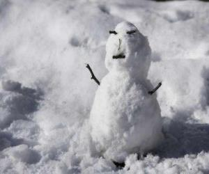 Rompicapo di Pupazzo di neve piccolo