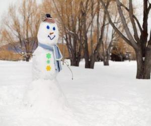 Rompicapo di Pupazzo di neve