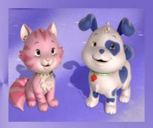 Rompicapo di Pupcake è il cucciolo di Fragolina Dolcecuore con Crema è il gattino di Fragolina Dolcecuore