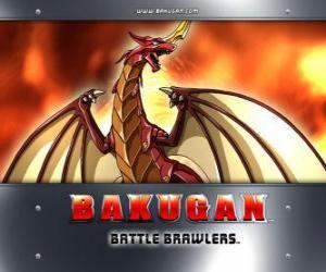 Rompicapo di Pyrus Drago è il custode Bakugan di Dan