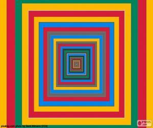 Rompicapo di Quadrati concentrici