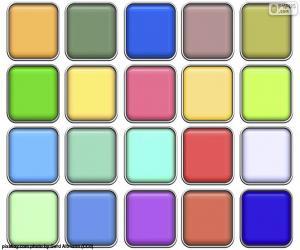 Rompicapo di Quadrati di colori