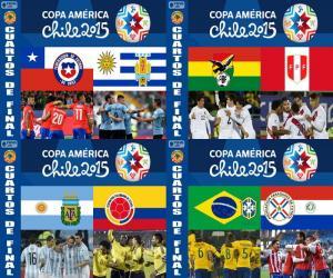 Rompicapo di Quarti di finale, Cile 2015