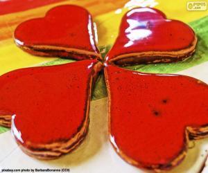 Rompicapo di Quarto cuore rosso