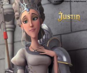 Rompicapo di Queen è bella monarca del Regno