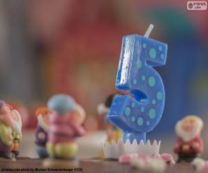 Rompicapo di Quinto compleanno