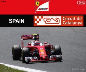 Rompicapo di Räikkönen, G. P Spagna 2016