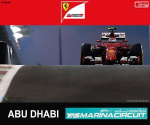 Rompicapo di Räikkönen G.P Abu Dhabi 2015