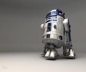 Rompicapo di R2-D2, astrodroide (Artoo-Detoo, il suono vuole ricordare il nome anglosassone Arthur, Arturo in italiano)