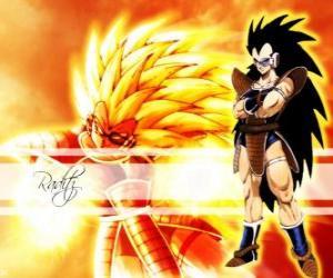 Rompicapo di Radish, un Saiyan, il fratello maggiore di Son Goku che sono riusciti a sopravvivere alla distruzione del pianeta Vegeta