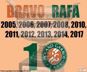 Rompicapo di Rafa Nadal, 10 Roland Garros