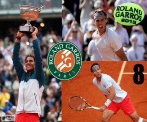 Rompicapo di Rafael Nadal, campione del Roland Garros 2013