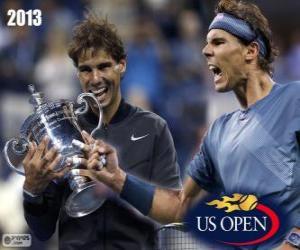 Rompicapo di Rafael Nadal campione US Open 2013