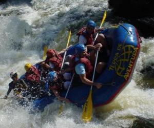 Rompicapo di Rafting